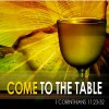Come to the Table Sermon Image
