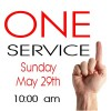 One Service Image 5-29-16